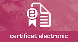 Certificat electrònic